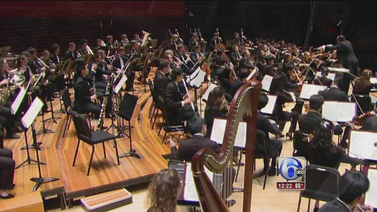 VIDEO: 6abc Loves the Arts: Curtis Symphony