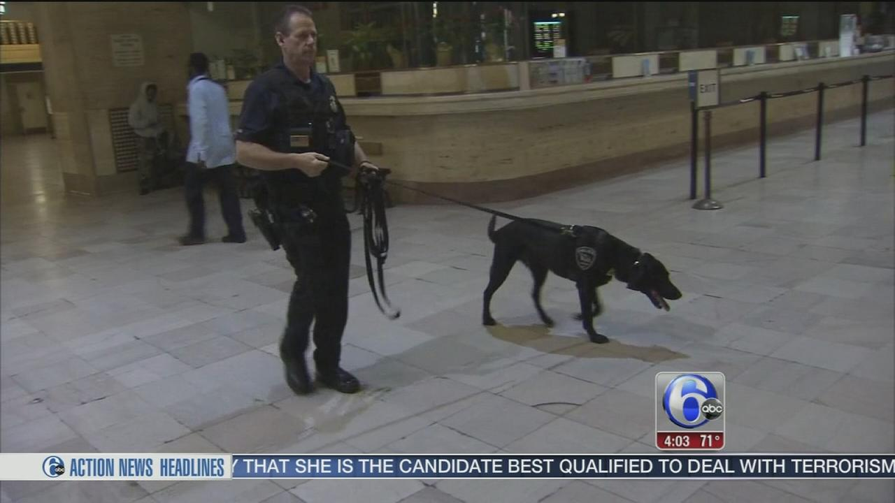 VIDEO: Increased security at local station