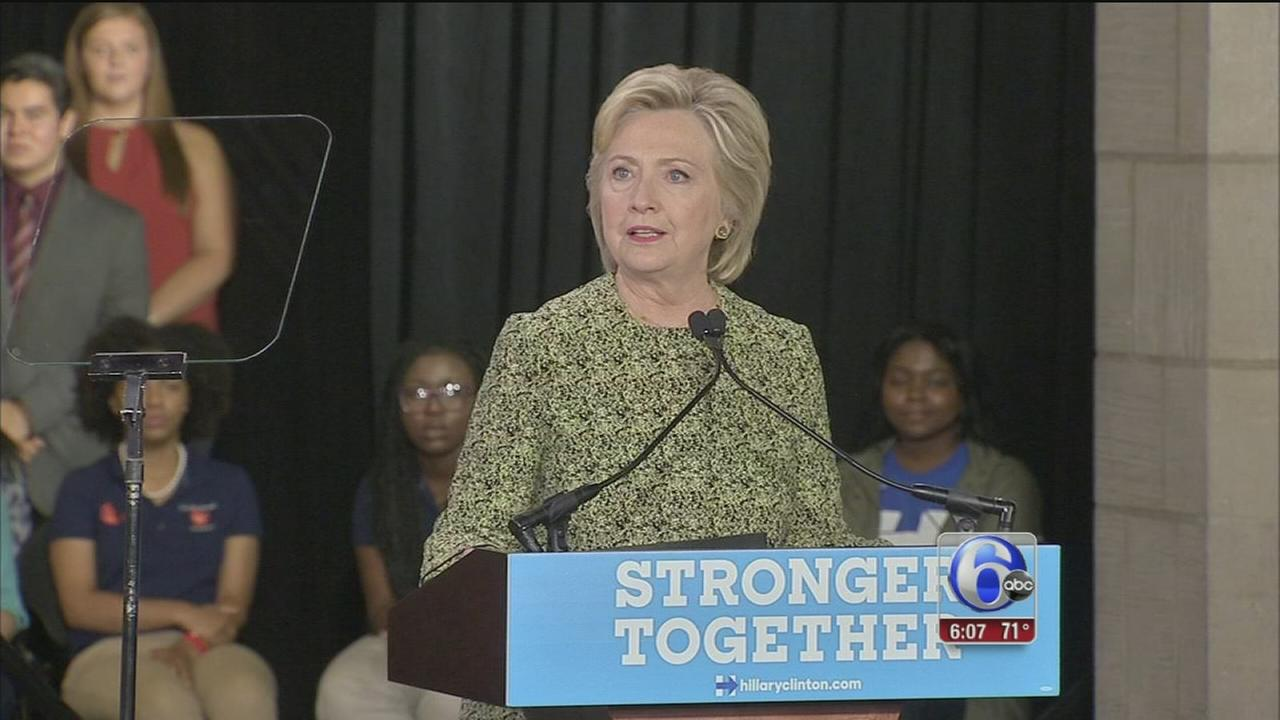 VIDEO: Clinton at Temple