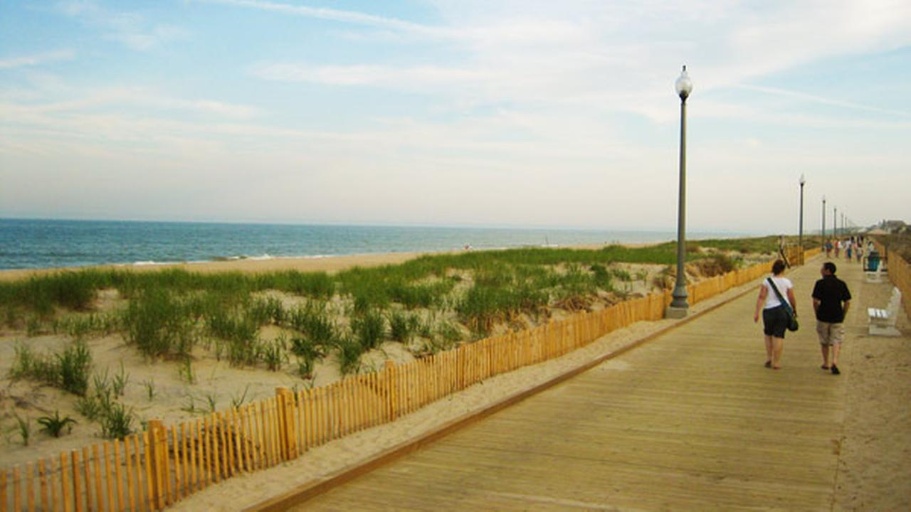 This undated photo supplied by the Rehoboth Beach-Dewey Beach Chamber of Commerce and Visitors Center shows the boardwalk at Rehoboth Beach, Del.