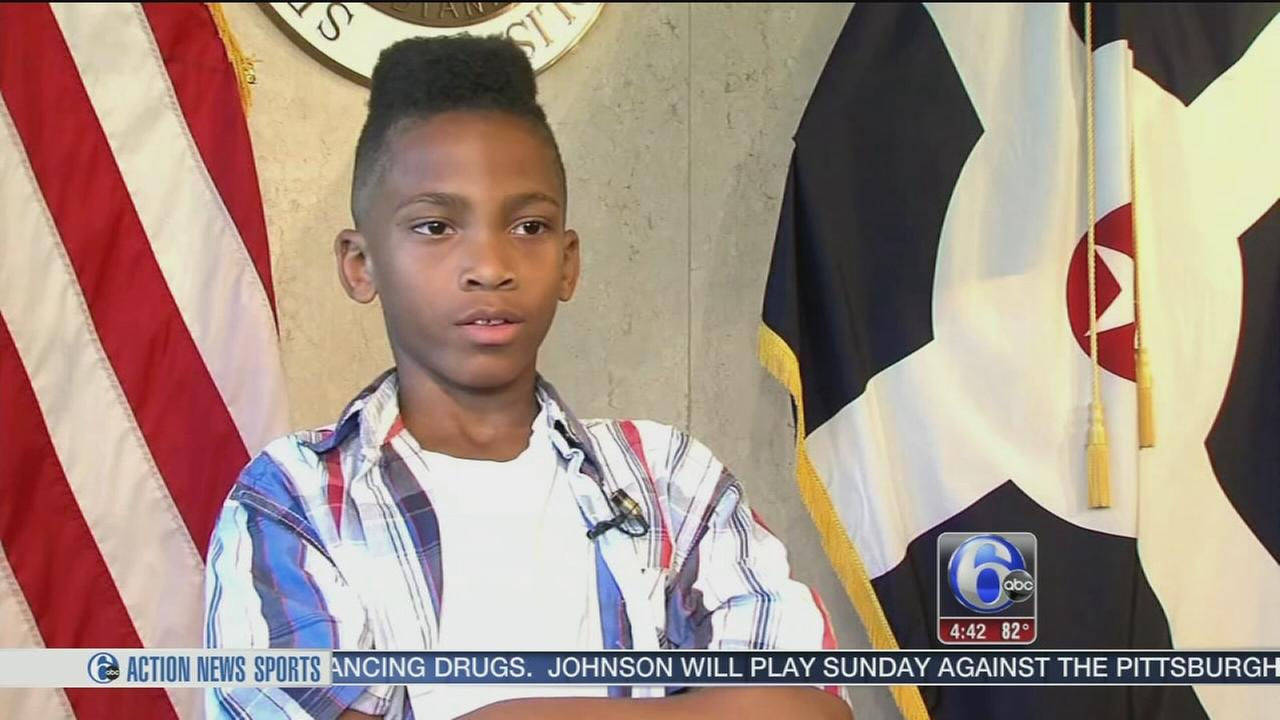 VIDEO: Boy, 8, plans march for peace to end violence in his community