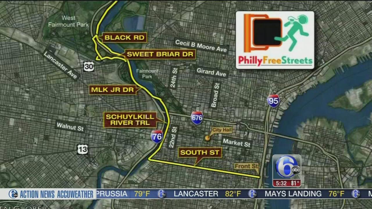 VIDEO: Car ban on South Street