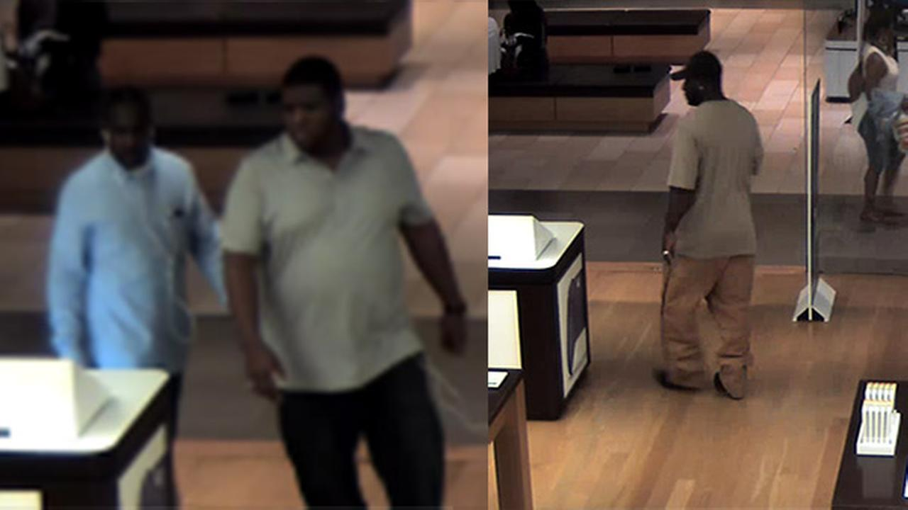 Police: Suspects sought for shoplifting at Delaware Microsoft store
