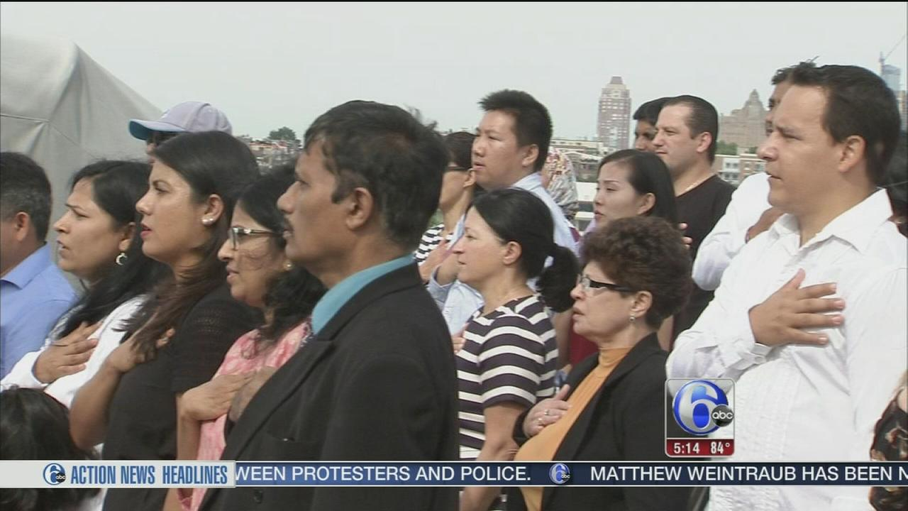 VIDEO: New citizens