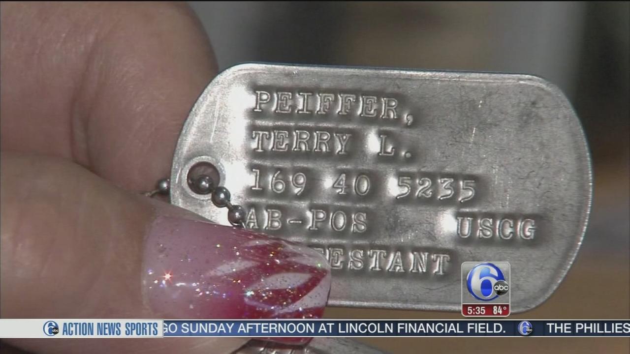 VIDEO: California woman returns dog tags to NJ widow