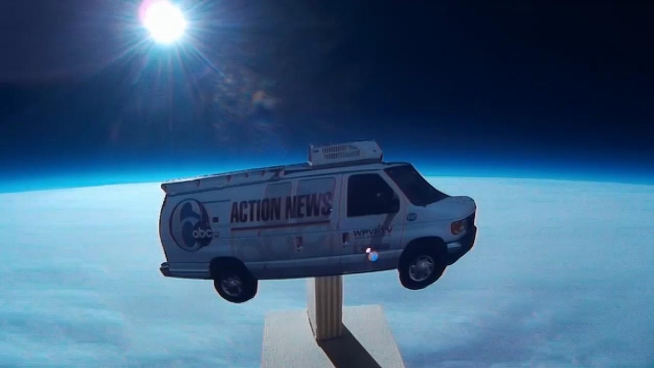 VIDEO: 6abc Weather Balloons trip