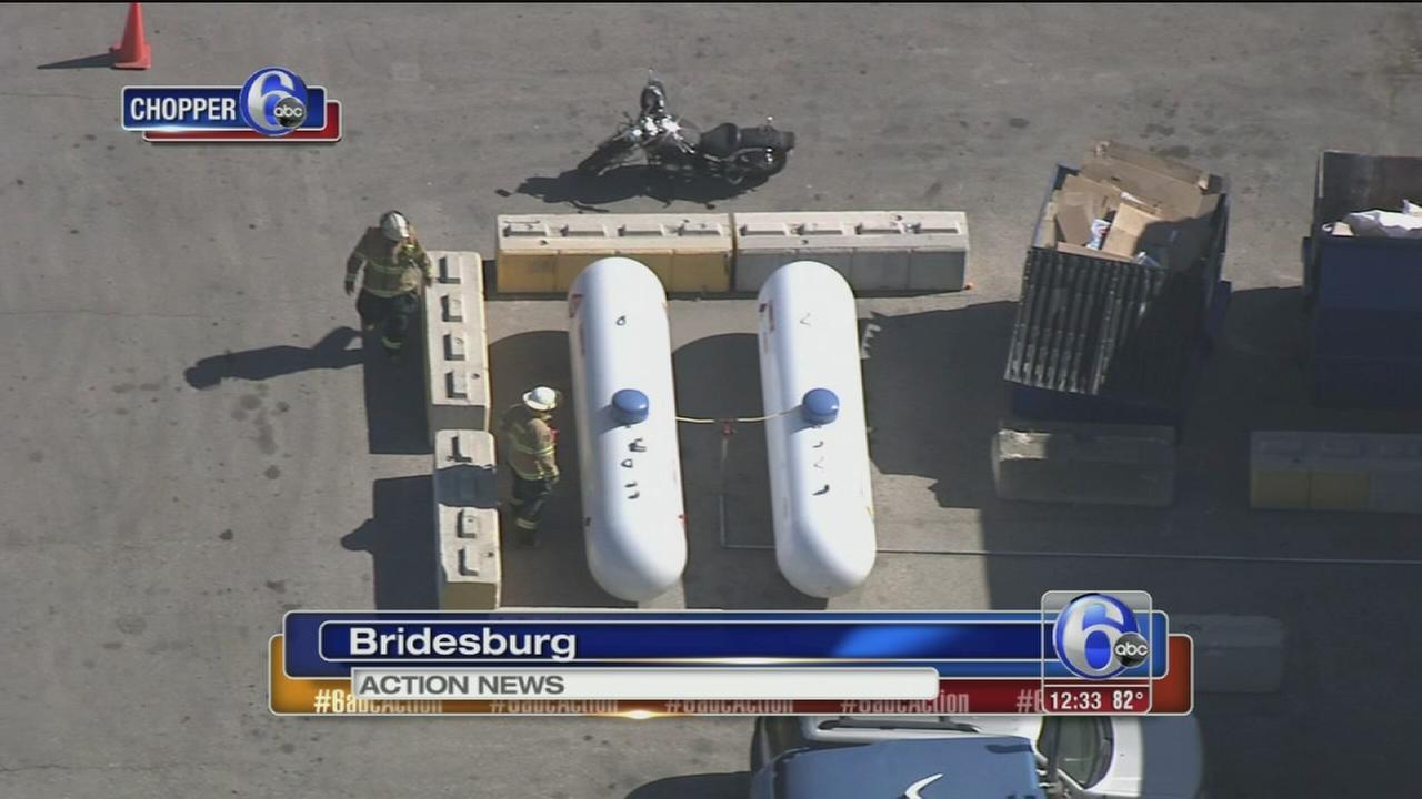 VIDEO: Propane leak in Bridesburg