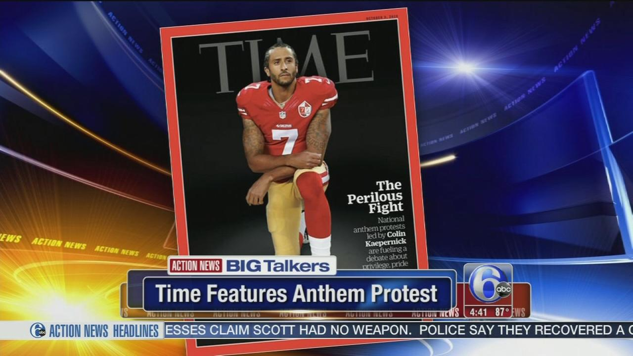 VIDEO: Colin Kaepernick set to appear on the cover of Time Magazine