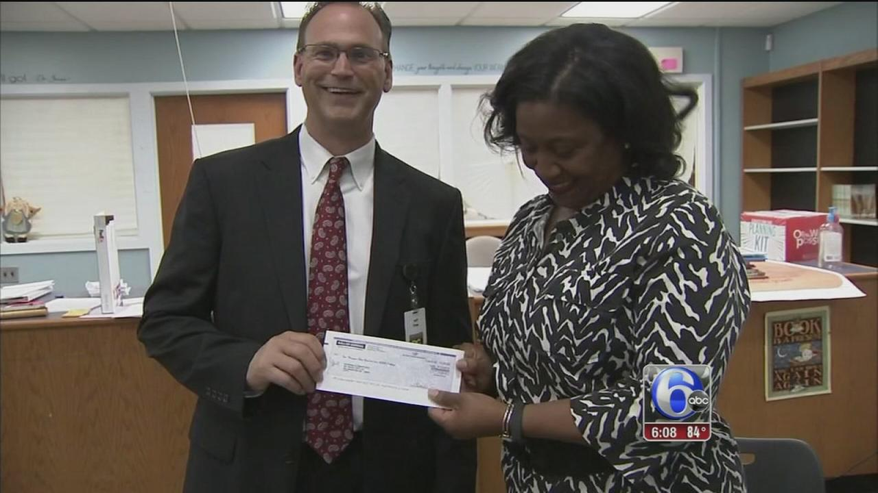 Warner Elementary School receives big donation