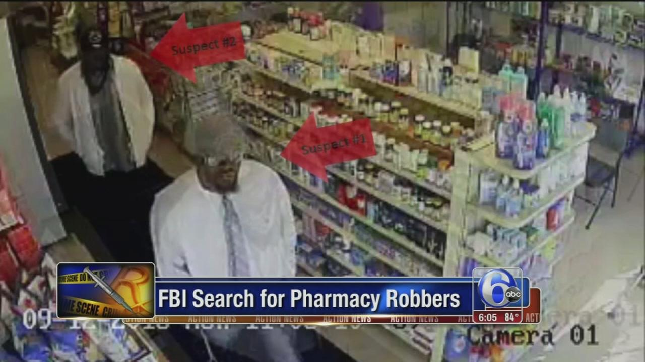 VIDEO: Pharmacy robberies