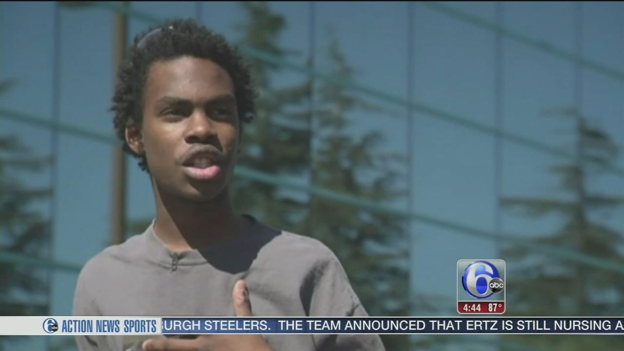 VIDEO: Cops buy bike for teen who walks two hours to work everyday