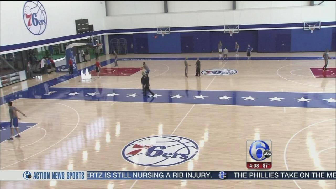 VIDEO: Sixers open new training facility in Camden, N.J.
