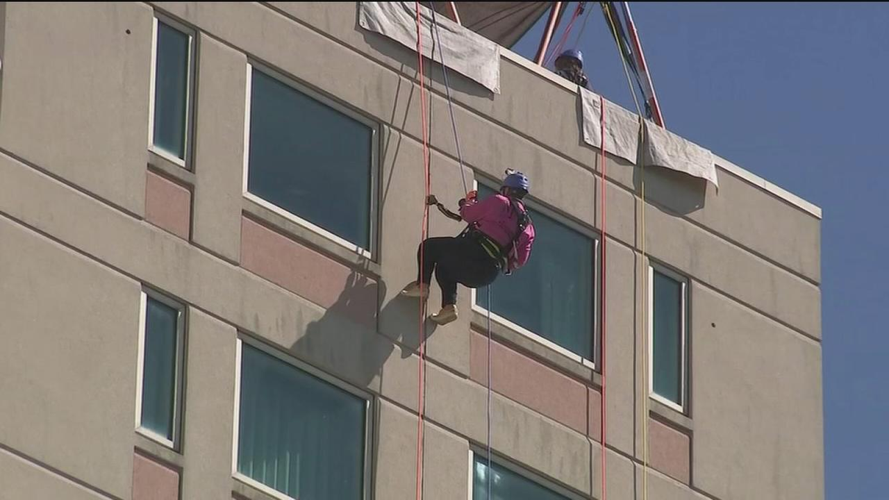 Going Over the Edge for kids