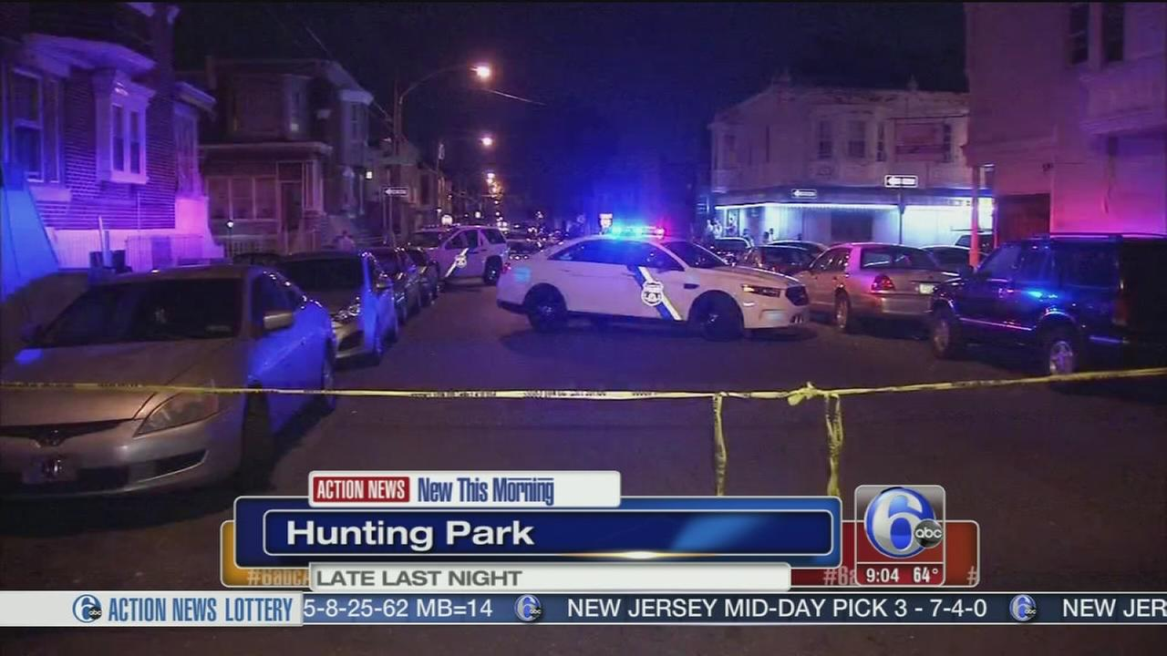 VIDEO: Young man shot in Hunting Park
