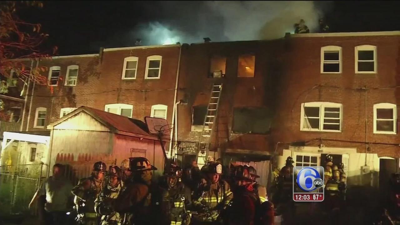 VIDEO: Firefighters killed in Wilmington fire