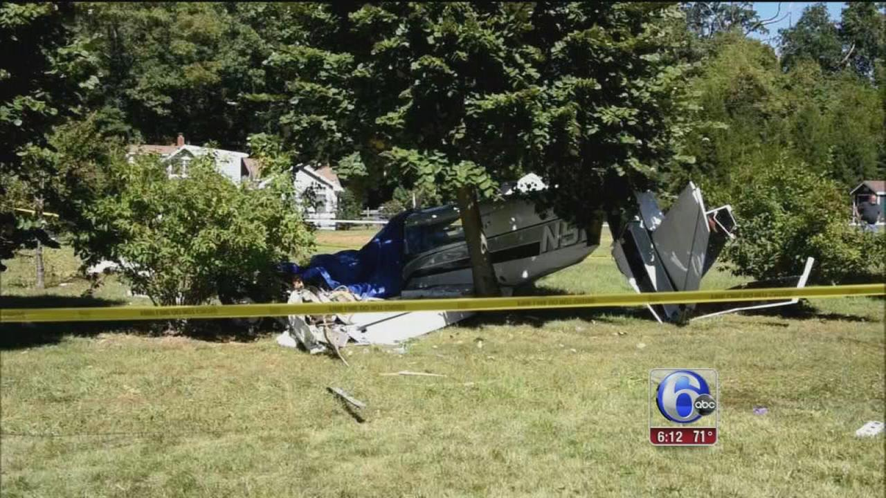 VIDEO: NJ plane crash