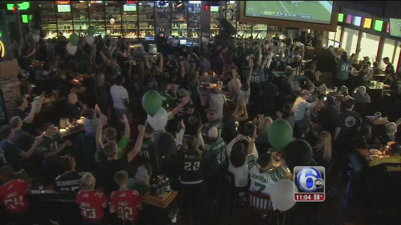 VIDEO: Eagles fans