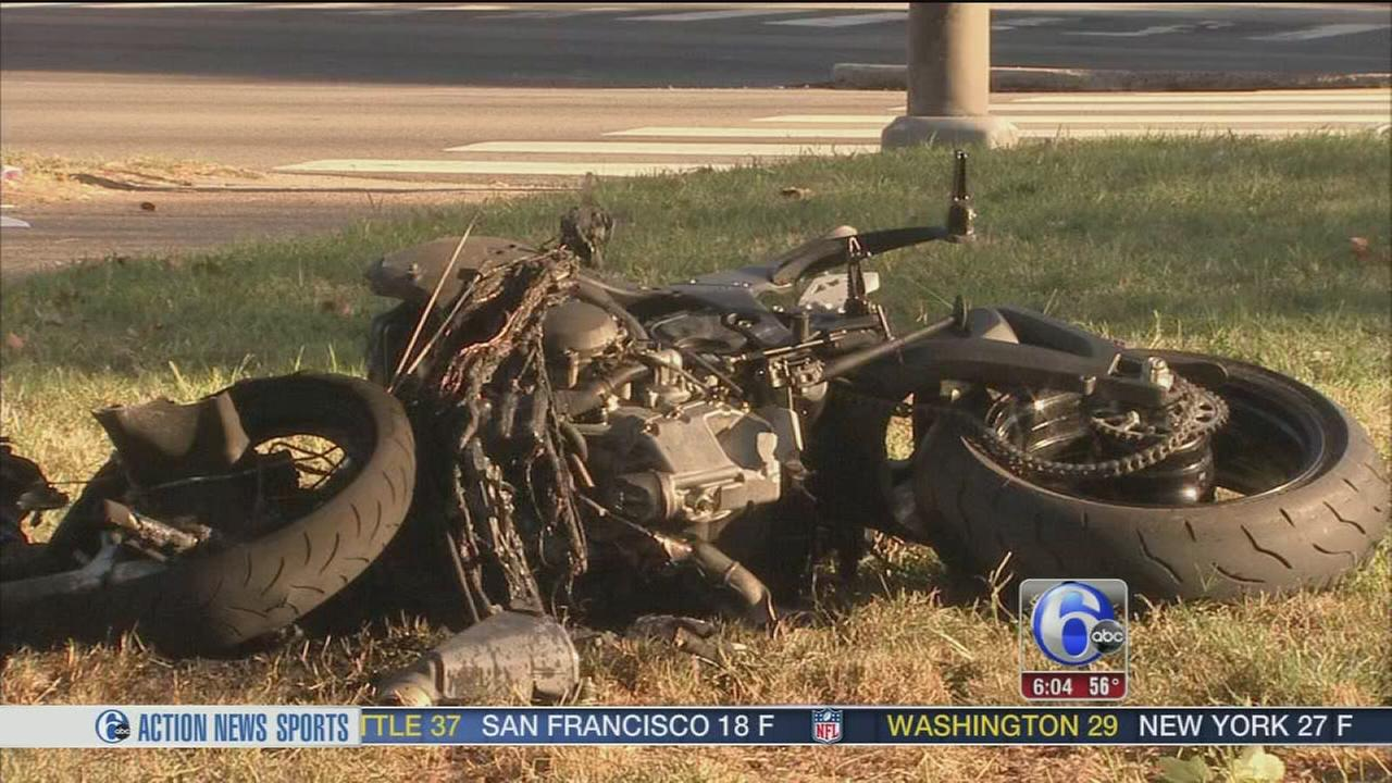 VIDEO: Motorcyclist dies after crash