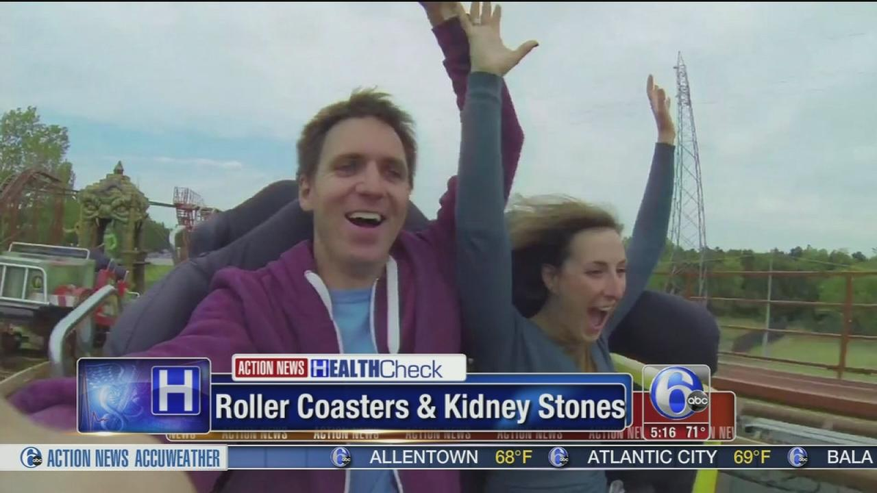 VIDEO: Roller coasters and kidney stones
