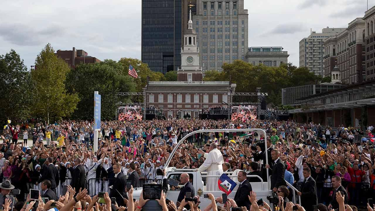 One year later: Remembering the pope's visit to Philadelphia