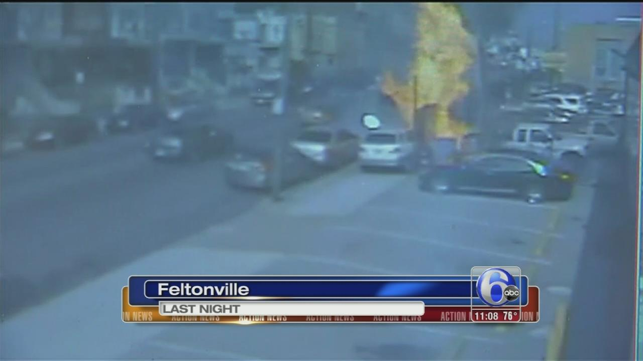 VIDEO: Propane tank possible cause of food truck explosion
