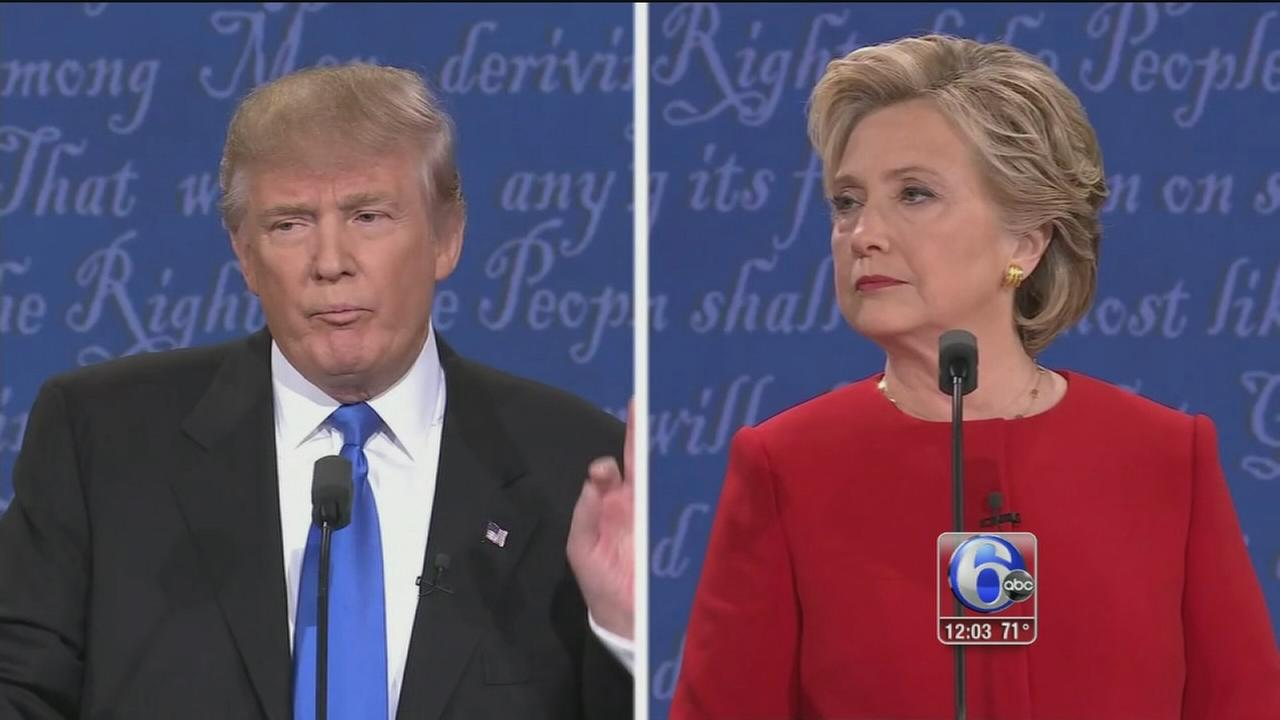 VIDEO: Trump on the defensive after combative debate with Clinton