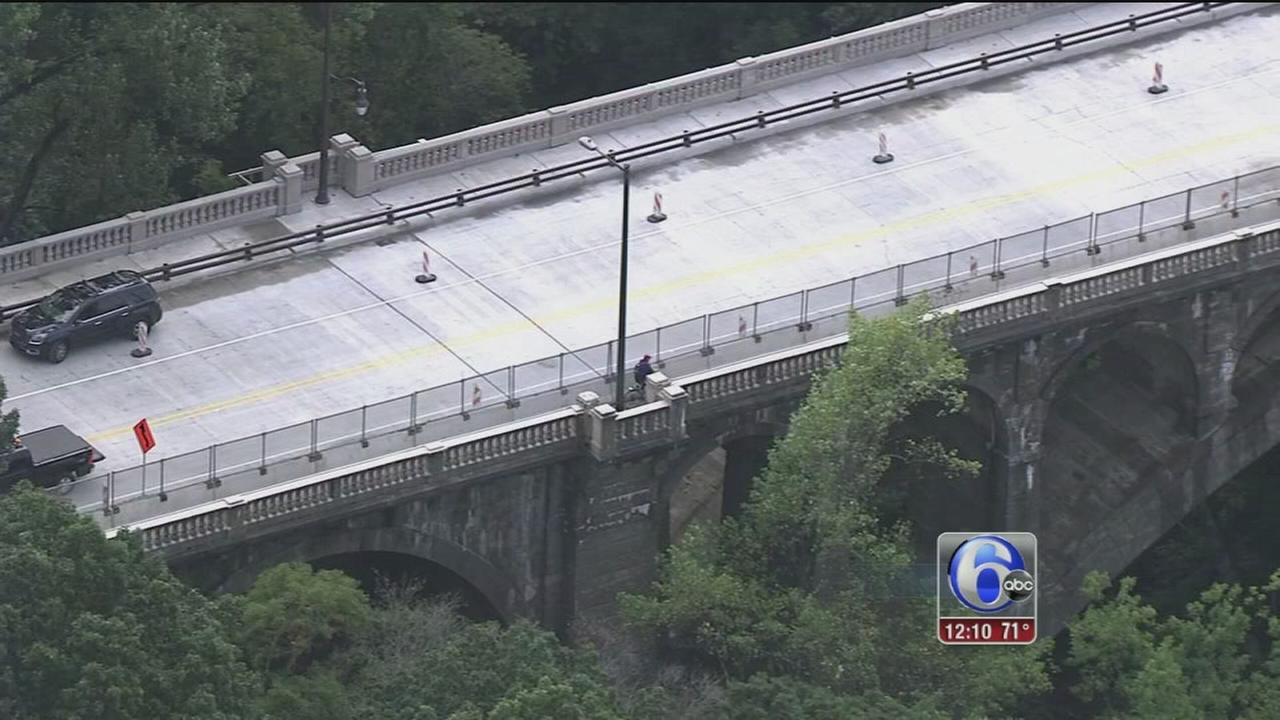 VIDEO: Walnut Lane Bridge reopens after 6 months