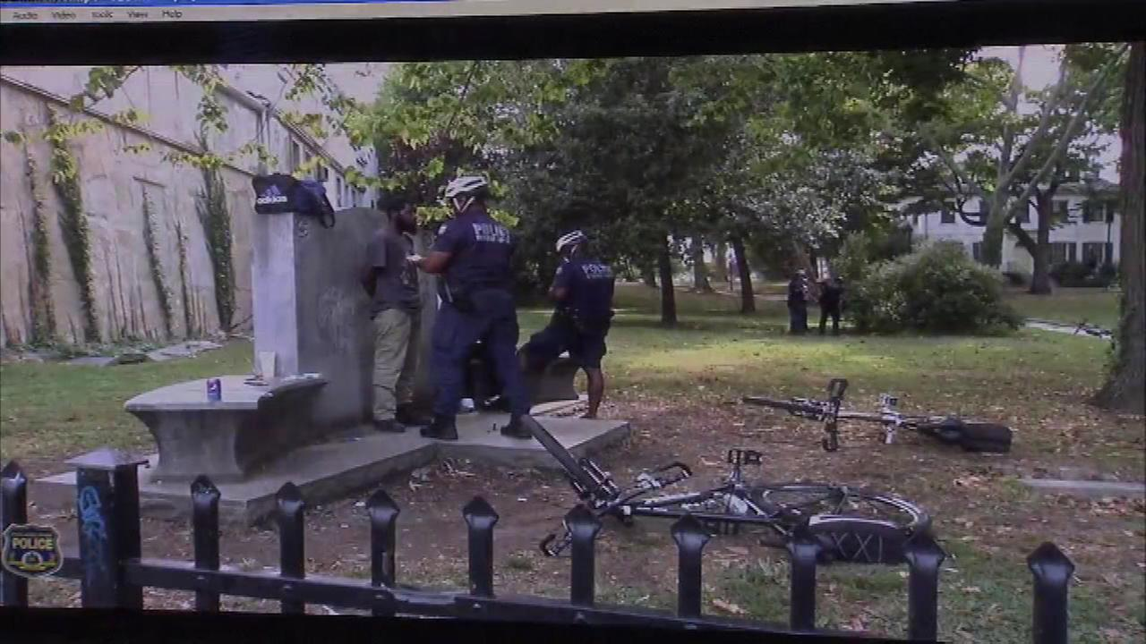 Philadelphia police released recordings of crime sweeps in the Northwest Division.
