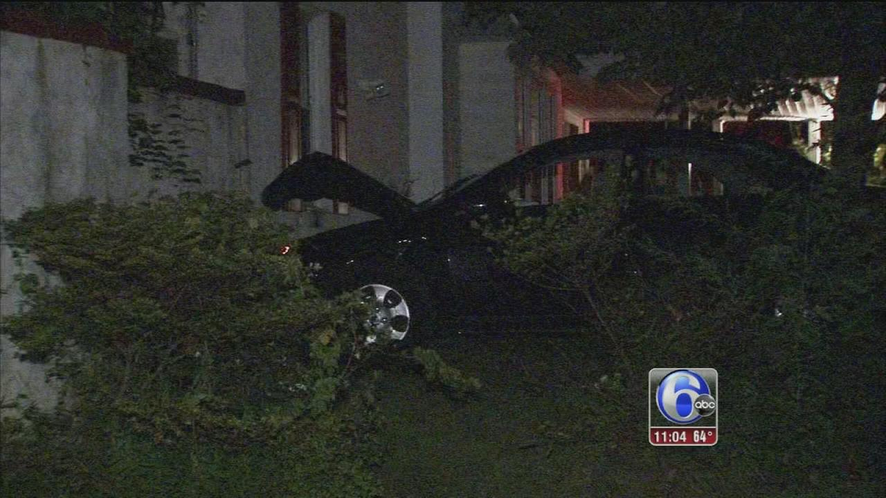 VIDEO: Driver crashes into house