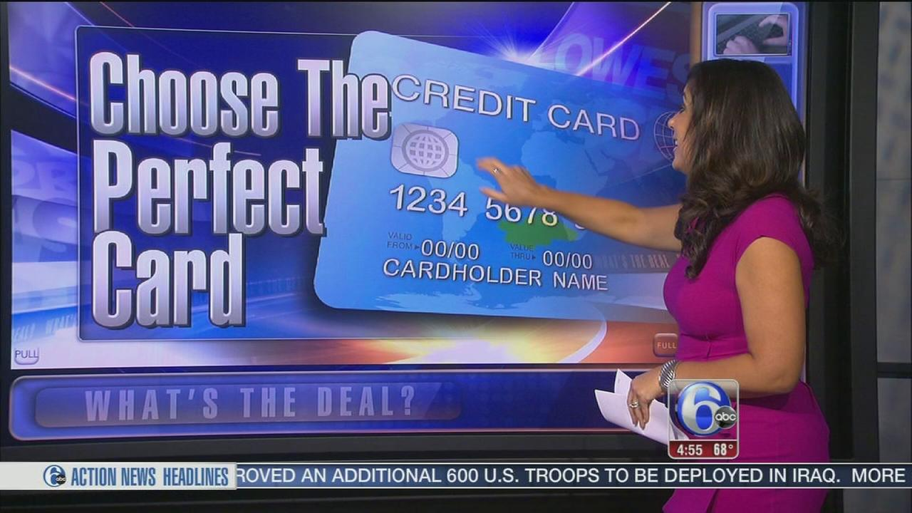 VIDEO: Choosing the right credit card