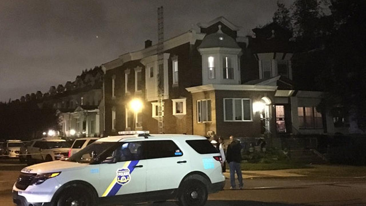 Police shot a suspect who allegedly stabbed two children in West Philadelphia.