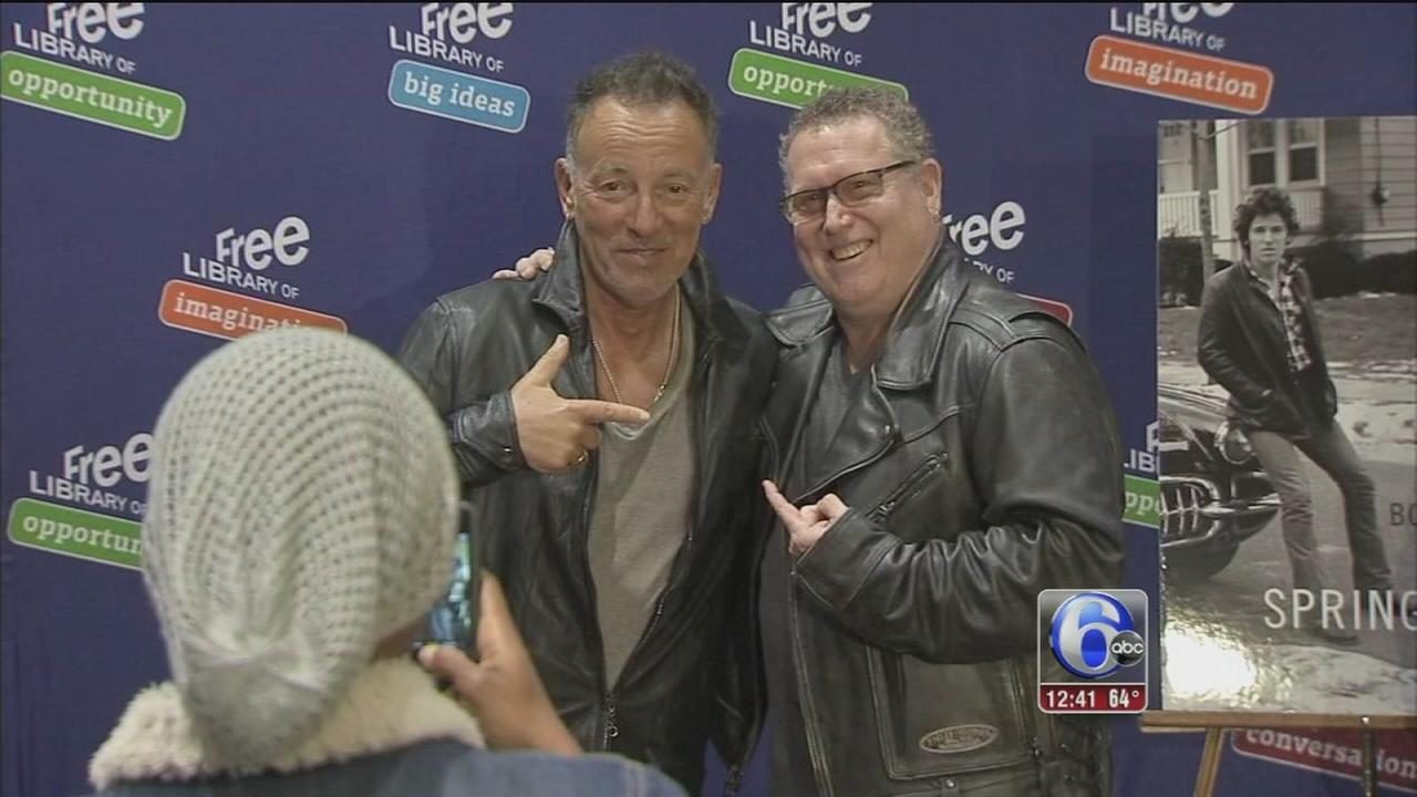 VIDEO: Fans meet Bruce Springsteen