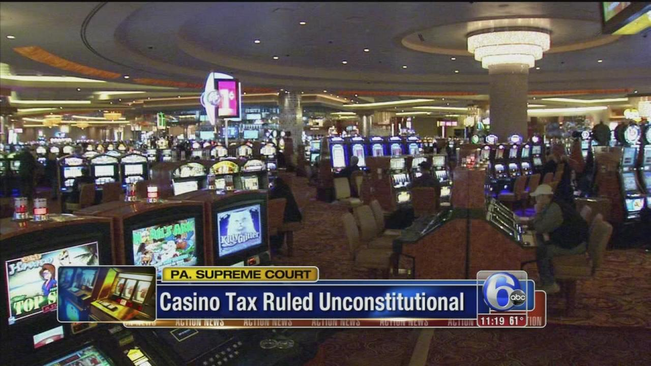VIDEO: Pa. casino tax