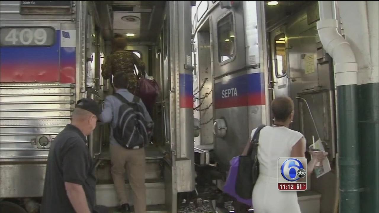 VIDEO: SEPTA cars