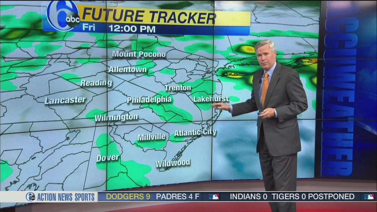 VIDEO: David Murphy with AccWeather