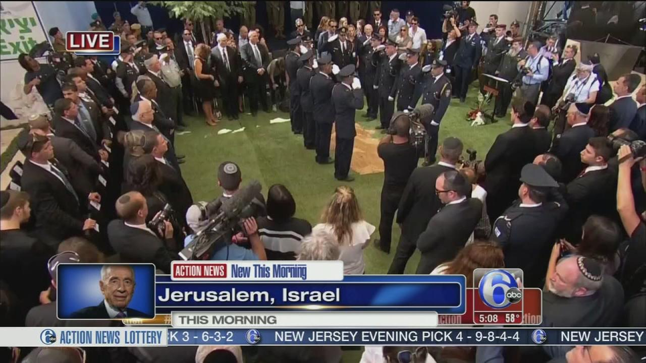 VIDEO: Israelis, world leaders gather for Peres funeral