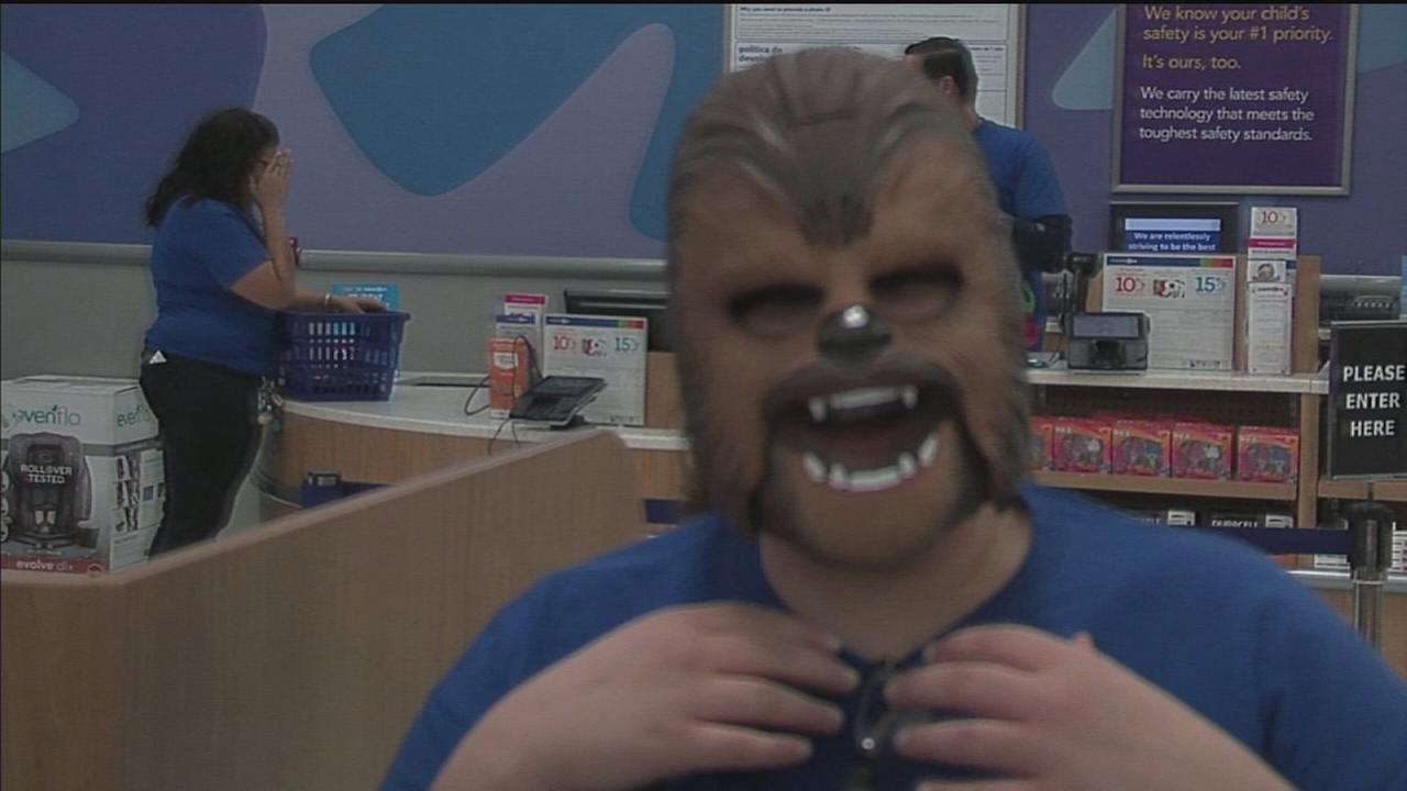 VIDEO: New Star Wars toys hit the shelves Friday