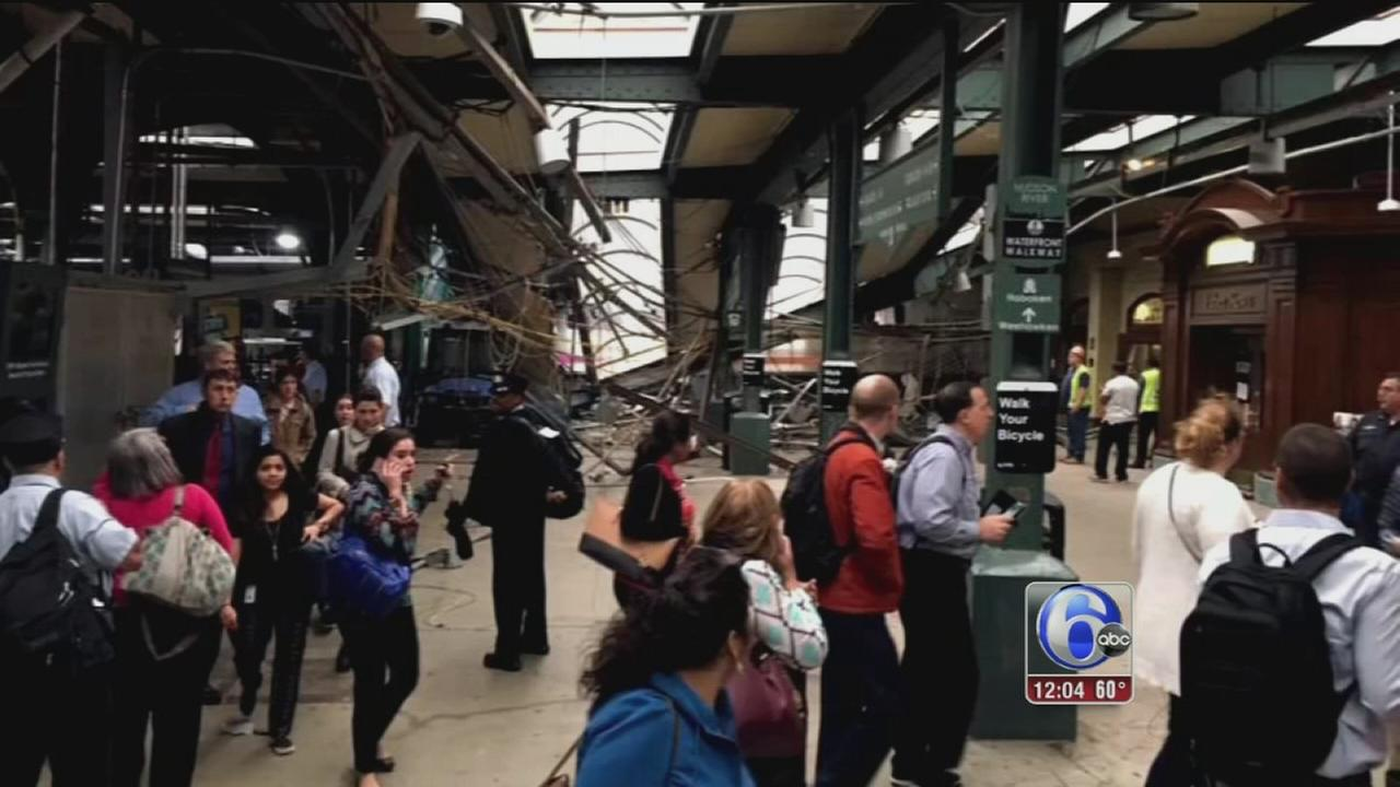 VIDEO: Black box recorder recovered from wreckage of Hoboken train crash