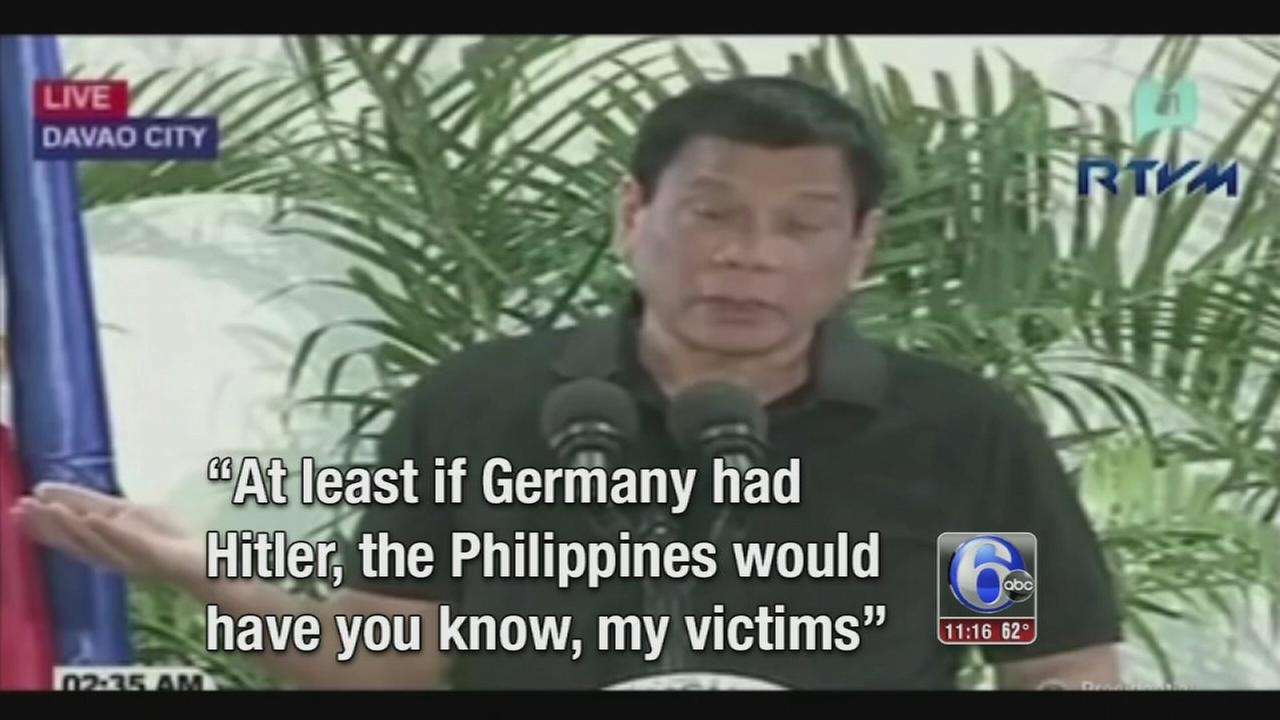 VIDEO: Duterte Hitler