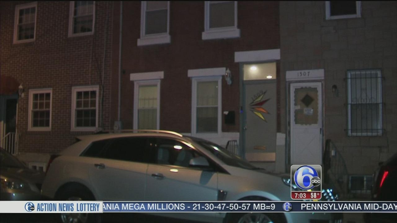 VIDEO: 2 suspects sought in North Philly home invasion