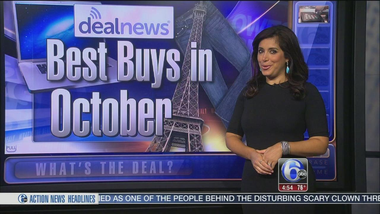 VIDEO: Whats the Deal: Best products to buy in October