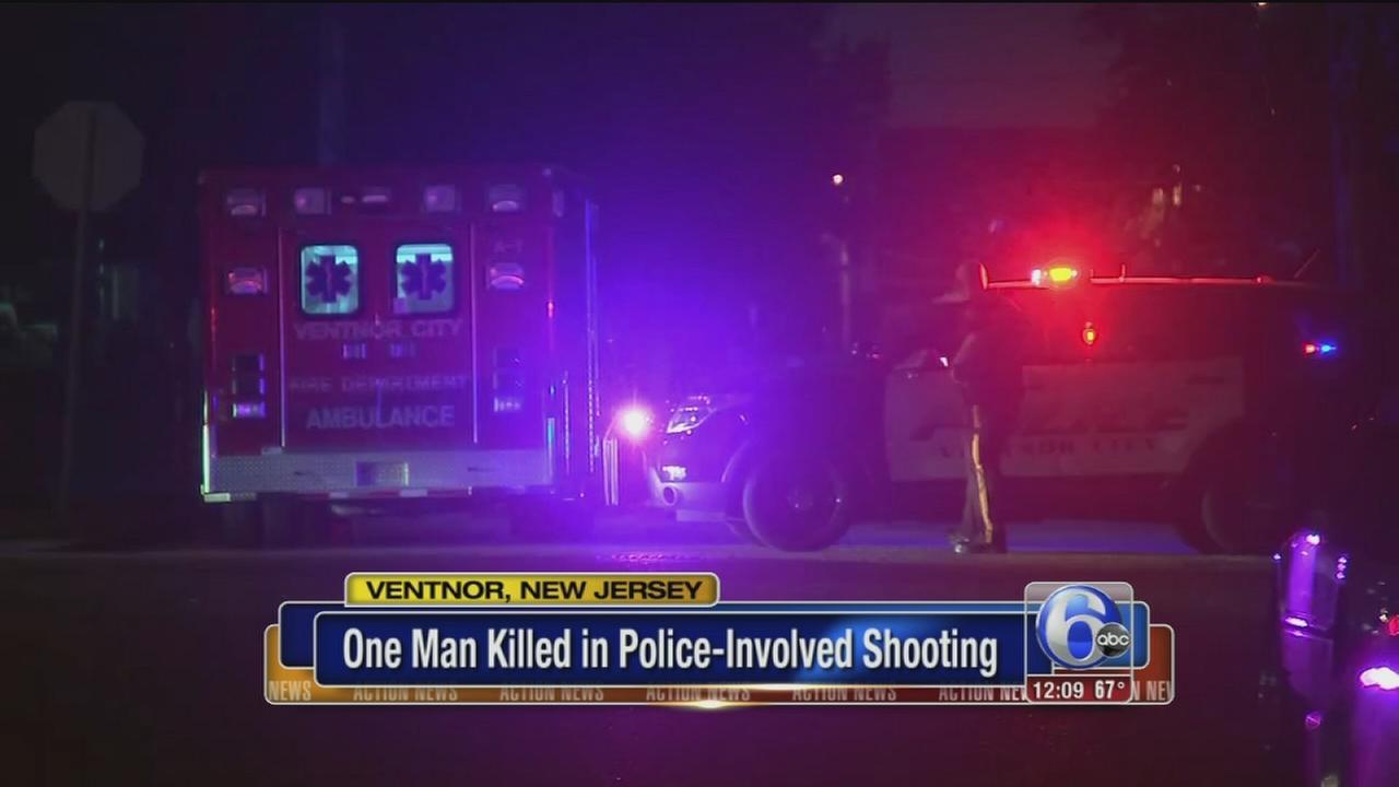 VIDEO: Police-involved shooting in Ventnor