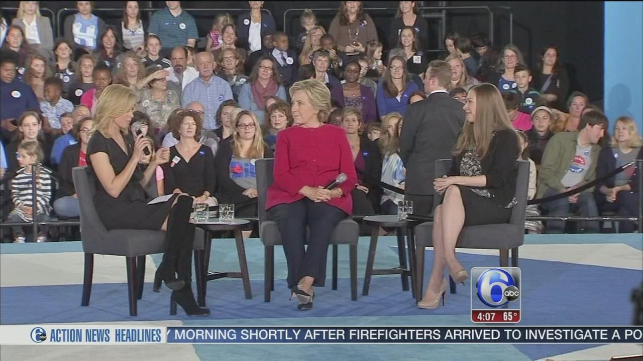 VIDEO: Hillary Clinton in Haverford Township, Pa.