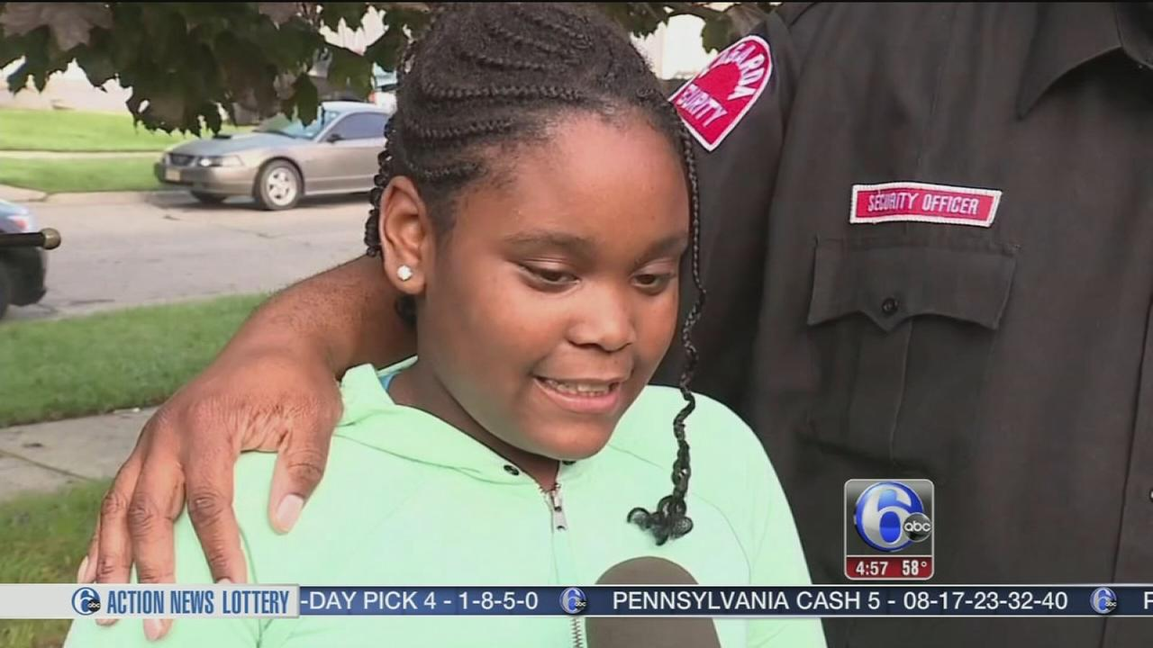 VIDEO: Michigan girl saves family after scare behind the wheel