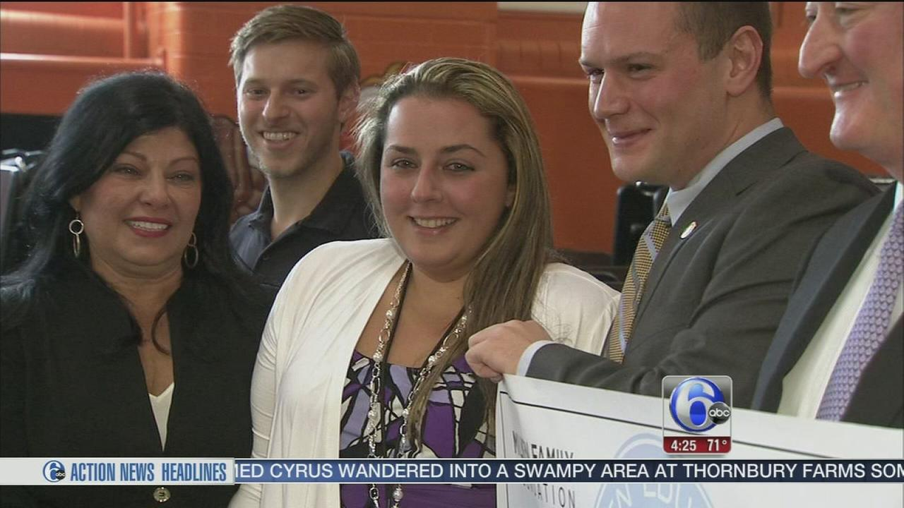 VIDEO: Teacher honored with educator award