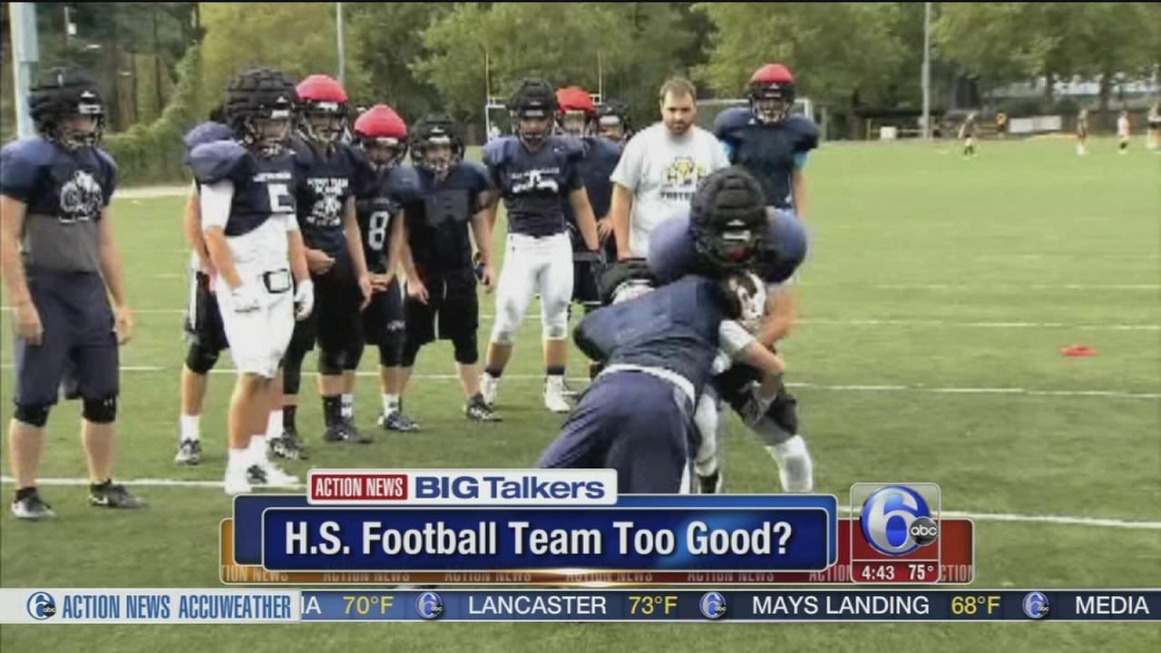 VIDEO: Opponents forfeit against high school football team deemed too good