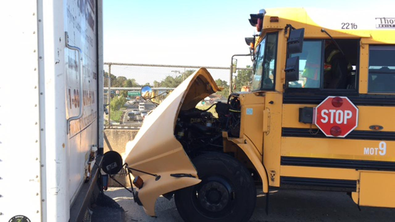 Delaware State Police are investigating a school bus accident in New Castle County.