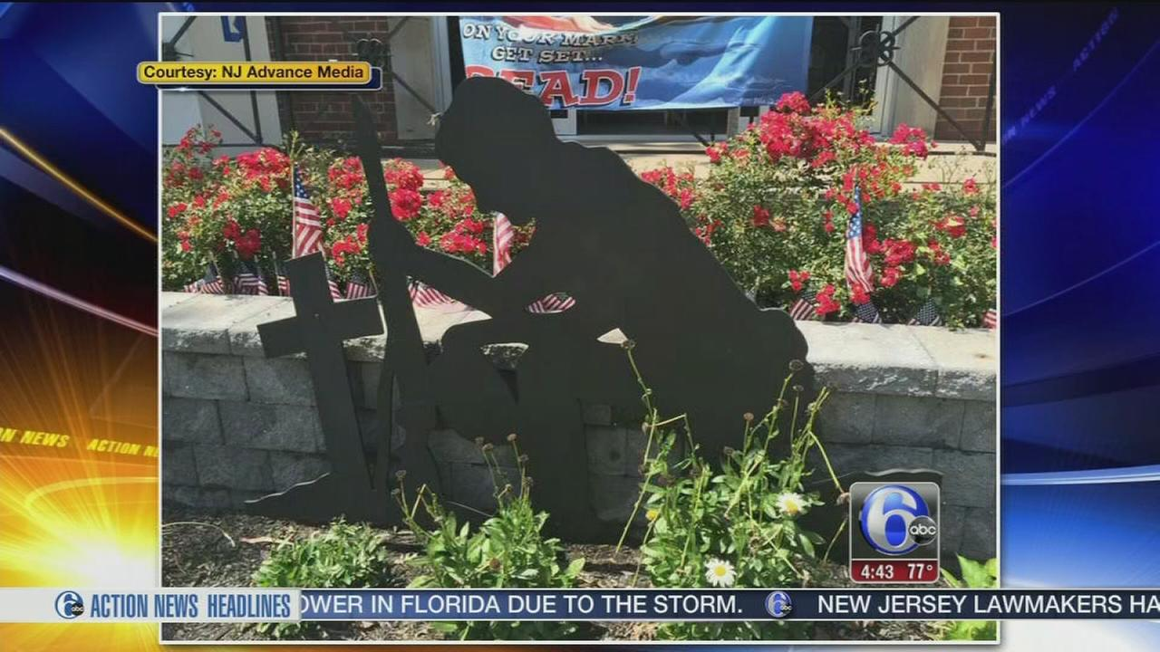 VIDEO: NJ town to remove veterans statue with Christian cross amid suit