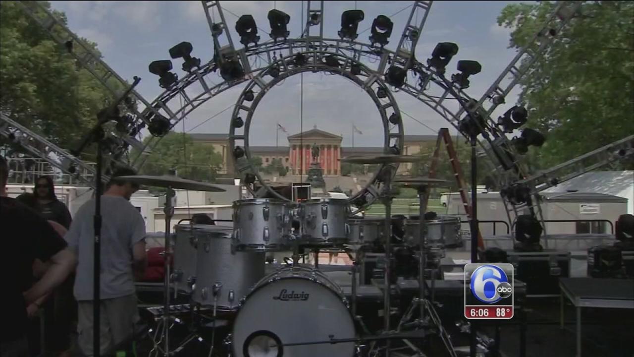 VIDEO: Final preps on Fourth of July festivities in Phila.