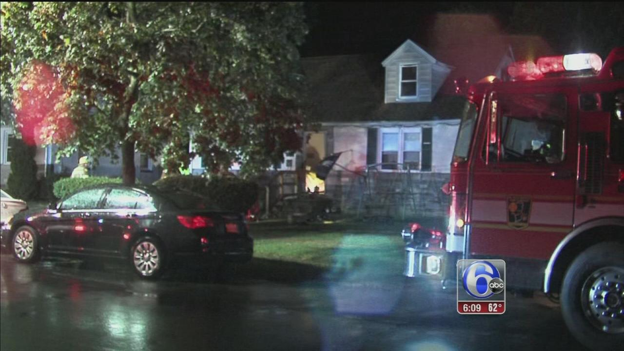 VIDEO: Gloucester Twp. fire